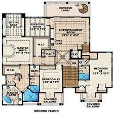 Bedroom Story House Floor Plans  Bedroom  Bath Traditional    Luxury Beach House Floor Plan