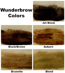 Wunderbrow Shades Chart Wunderbrow Jet Black