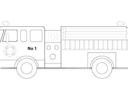 Fire Engine Coloring Pages To Print Firetruck Coloring Page Fire