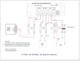 full list of solar system wiring installation circuit diagram 3 large system 12 volt 85 to 130 watt 198 amp hr systems