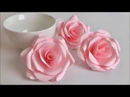 Paper Flower Video How To Make Tissue Paper Flowers Video Tutorial Paper
