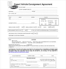 consignment form for cars auto consignment agreement rome fontanacountryinn com