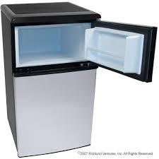 small fridge freezer combo. Modren Fridge Ft Fridge Freezer Stainless Steel  EdgeStar Appliances Intended Small Combo