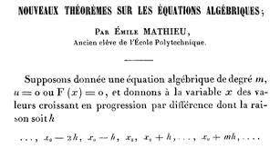 Resultado de imagen de Émile Mathieu