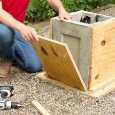 Pull the form apart to make a concrete planter as a this old house weekend  remodel