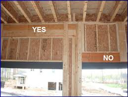 garage door header framing