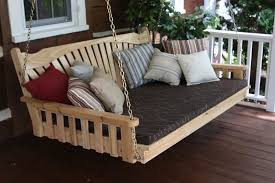 diy porch bed swing cushions