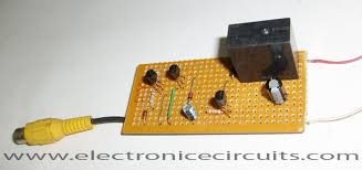 5v relay circuit diagram images vcr video detector switch controller circuit electronic circuits