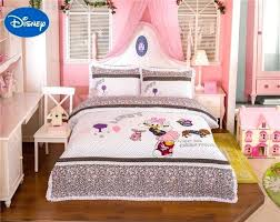 disney sheets queen size lace daisy duck bedding set girls baby bed sheets duvet cover cartoon