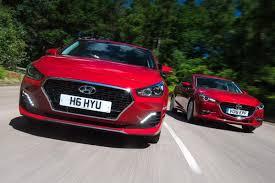 Hyundai I30 Fastback Vs Mazda 3 Fastback Auto Express