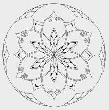 Eenvoudige Mandala Kleurplaten Krijg Duizenden Kleurenfotos Van