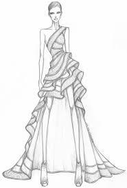 Michael Kors Fw 2003 Fashion Sketches Fashion Sketches