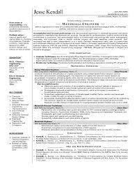 Chemical Engineer Sample Resume 5 Sample Chemistry Graduate