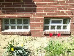 glass block basement windows cost glass block basement windows mi cost of installation much