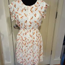 willow and clay bird dress