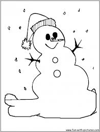 Small Picture Coloring Pages Dancing Snowman Coloring Page Snowman Coloring