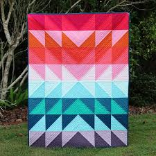 Colour Explosion Quilt Tutorial | Quilt tutorials, Bonjour and ... & Colour Explosion Quilt - a colourful and easy quilt tutorial, perfect for  beginners, by Adamdwight.com