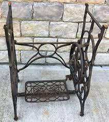 Image is loading Antique-Vintage-Franklin-Treadle-Sewing-Machine-Base-Stand-