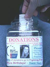 Donation Jars Relay For Life Google Search Relay For Life Donation Jar Relay
