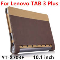 case for lenovo yoga tab 3 plus smart protective cover leather for yoga tab3 plus yt x703f x703l 10 1 tablet pu protector sleeve