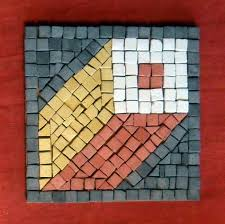Roman Kit - Square in Perspective - Mosaic Projects - Kits and Projects