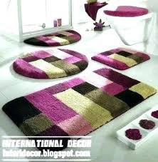 bathroom rugs full size of home winsome round bath long rug sets also with canada