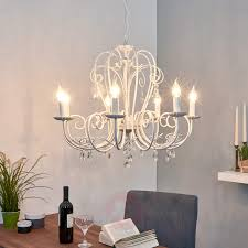 large chandelier sophina in white 9639028 01