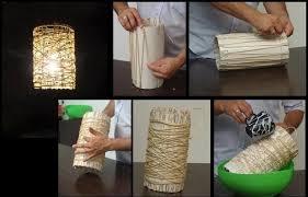 diy cord lampshade diy projects