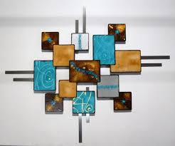 laguna square contemporary modern abstract art wood and metal wall sculpture wall hanging wall decor wall art custom art turquoise by divaart69  on turquoise wood and metal wall art with laguna square contemporary modern abstract art wood and metal