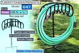 liberty garden hose reel garden hose holder freestanding liberty garden s best garden hose reel free