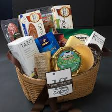 the gourmet market sympathy gift basket