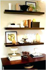 dark wooden floating shelves thick wood 3 reclaimed shelf storage organization modern also for pictures