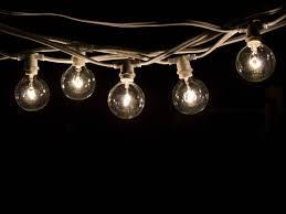 Decorative string lighting Old Fashioned Bulbrite 810051 String15e12whiteg16kt White Commercial Grade Decorative String Lights Bulbscom Bulbrite White Commercial Grade Decorative String Lights String15