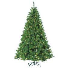 Prelit Artificial Christmas Tree Branford Cashmere Spruce Quick Pre Lit Spruce Christmas Tree