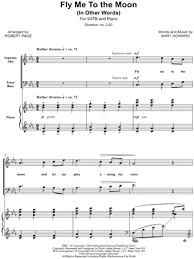 The arrangement code for the composition is pvgrhm. Fly Me To The Moon Sheet Music 88 Arrangements Available Instantly Musicnotes