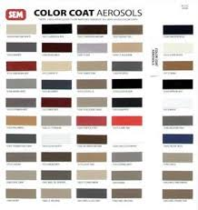 Sem Colorcoat Color Chart