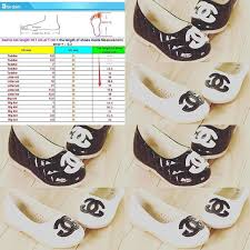 Chanel Ballerina Flats Size Chart Size Chart For The Chanel Shoes Listed Previously Size