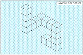 Graph Paper Draw Isometric Projection 1