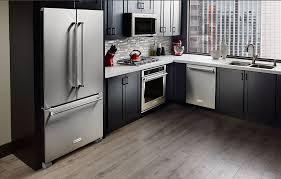 french door refrigerator in kitchen. Refrigerator And Kitchen French Door In