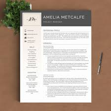 028 Template Ideas Eye Catching Resume Templates Landscape Cv