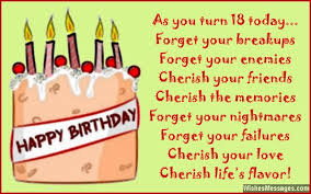 18th Birthday Wishes For Son Or Daughter Messages From Parents To