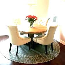 dining table rug on carpet room round points