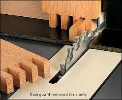forrest blades. forrest finger joint set - woodworking blades