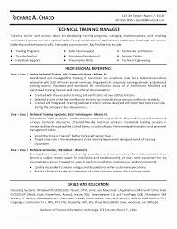Technical Trainer Resume Corporate Trainer Cover Letter 12 Sample Corporate Trainer Resume