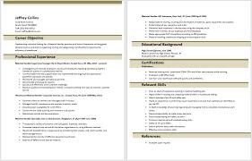 Gallery Of Sample Resume For Warehouse Material Handler