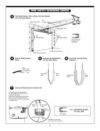 chamberlain garage door wiring diagram collection 19 9 i