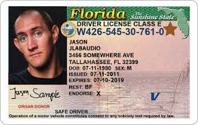 Drivers Licenses Set Another Wrong Florida Sent Of