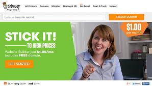 Godaddy Website Templates Awesome GoDaddy Web Hosting Comparison Review