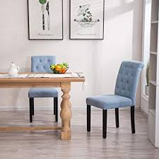 image unavailable image not available for color yeefy fabric habit solid wood tufted parsons dining chair