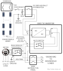 grid tie solar power system Transformer Disconnect Wiring Diagram wiring diagram of a grid tie solar power system 60 Amp Disconnect Wiring Diagram